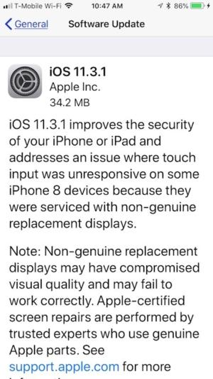 Apple releases updates for iOS 11 3 and macOS 10 13 4 High