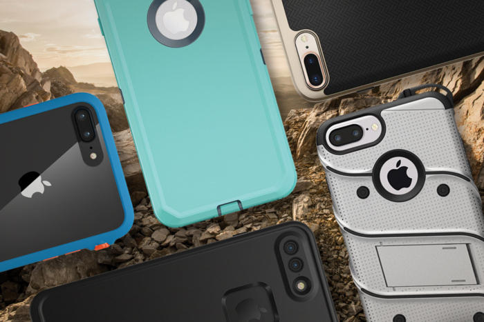 iphone 8 plus rugged case hub
