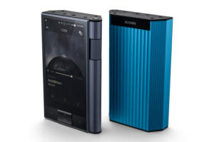 Astell&Kern's Kann comes in Eos Blue and Astro Silver finishes.