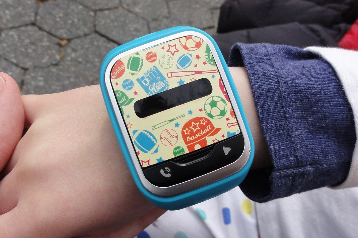 Lg Gizmopal 2 Review A Cheap Rugged And Fun Gps Tracker Watch For Younger Kids Pcworld