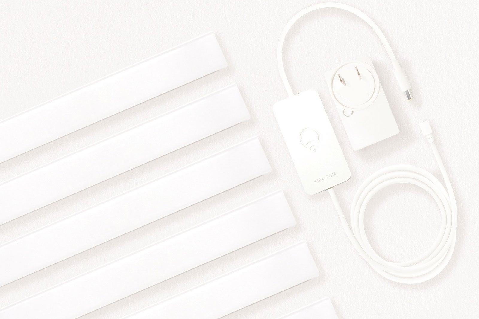 lifx beam review  six feet of decorative lighting that
