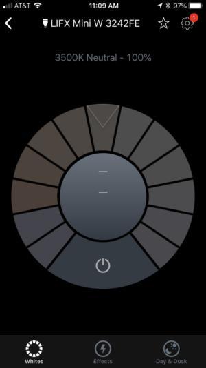 lifx mini white app