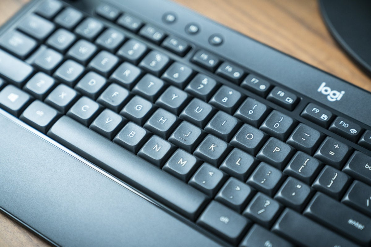 Logitech MK540 Advanced wireless keyboard and mouse review: Snappy