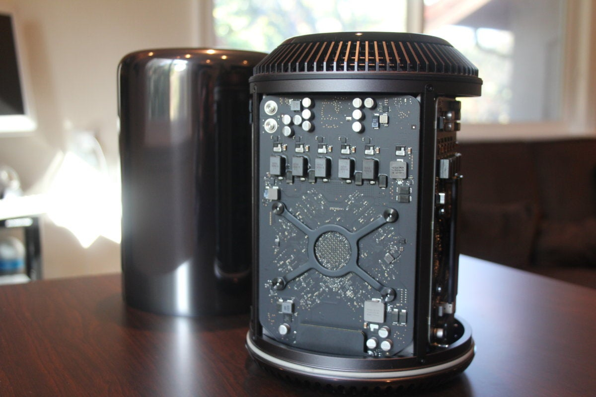 mac pro with case