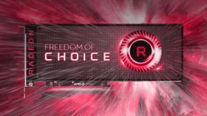 radeon freedom of choice