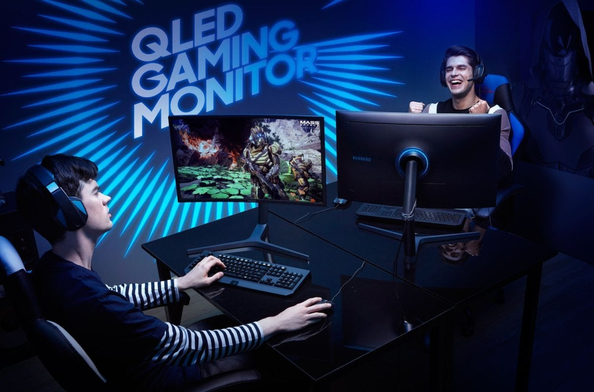 Samsung's glorious CHG70 FreeSync 2 display shows the wonder (and