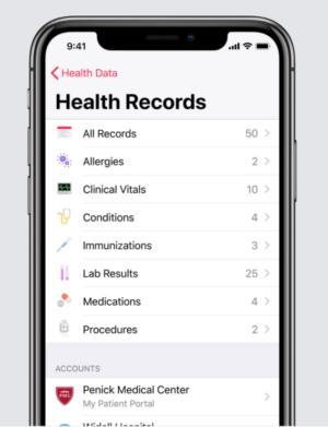 Apple Health Record mobile