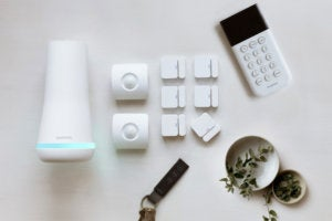 SimpliSafe sample system