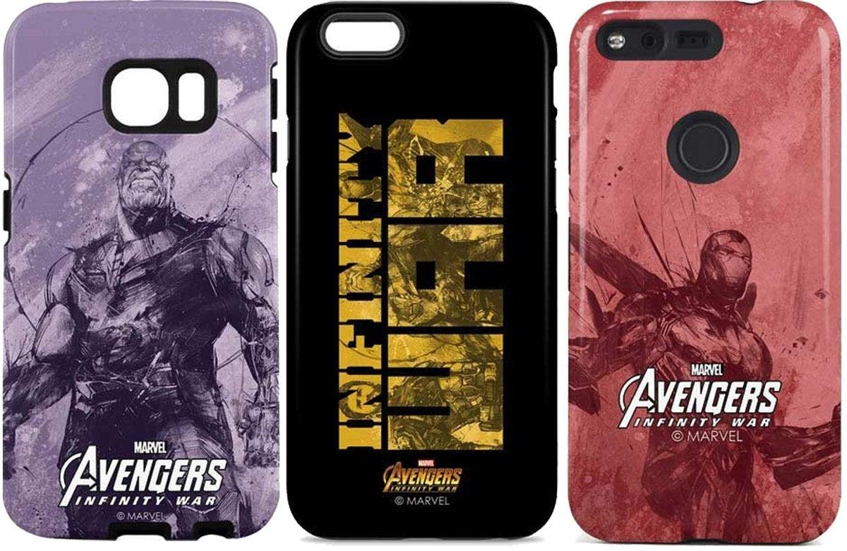skin it avengers cases