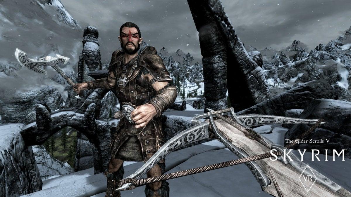 skyrim vr archery