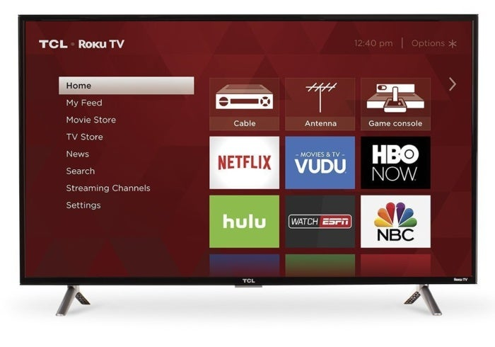 tcl 40 inch tv with roku