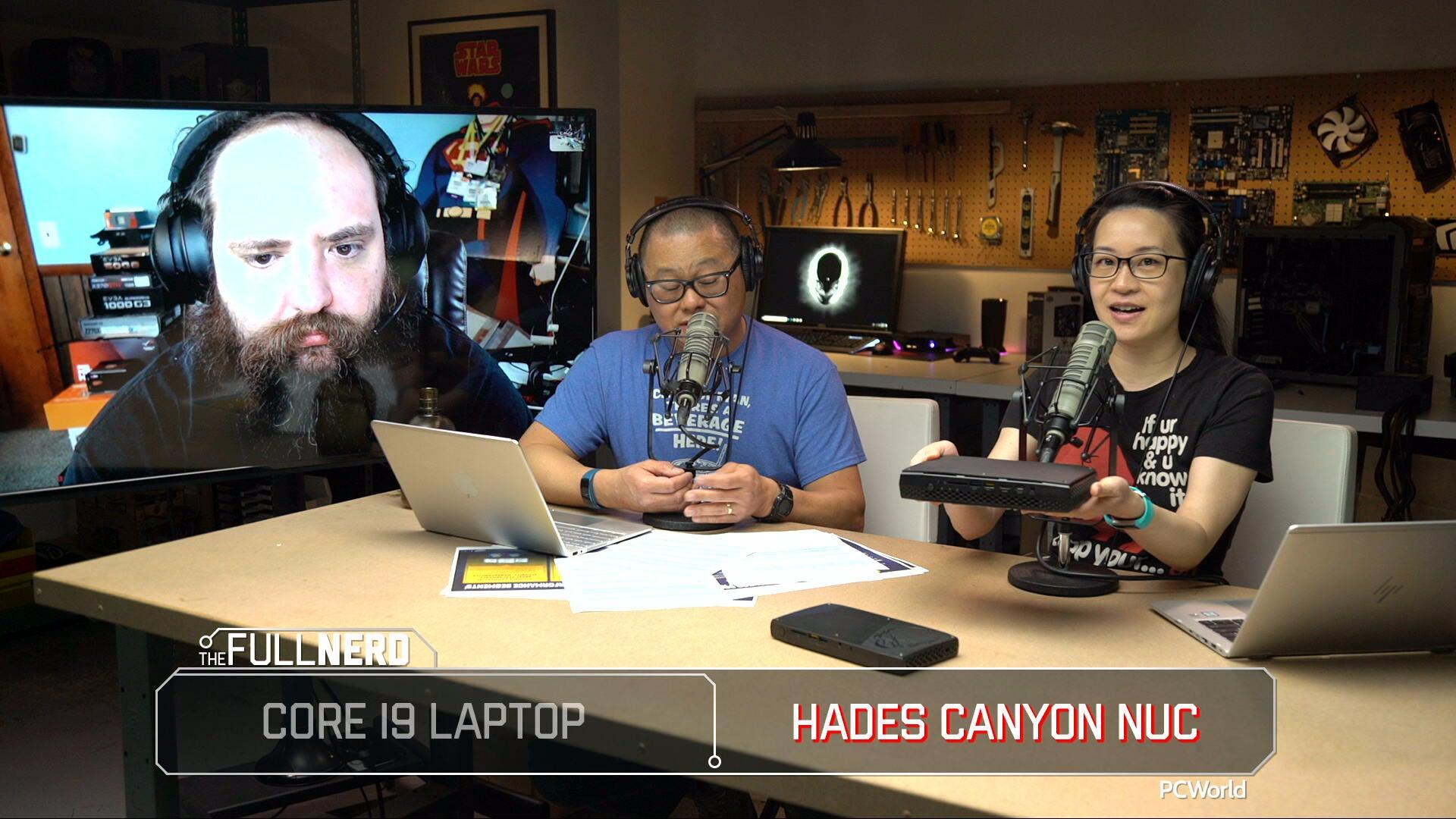 Intel Hades Canyon NUC (NUC8i7HVK) review   PCWorld