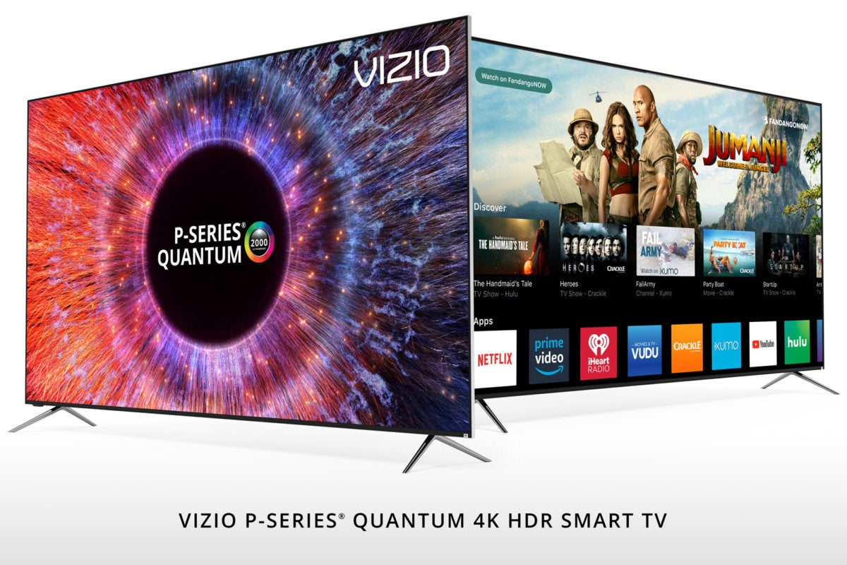 Vizio courts cord cutters, challenges OLED, and adds new HDR