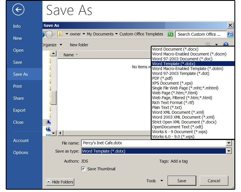 save word 03 document to pdf