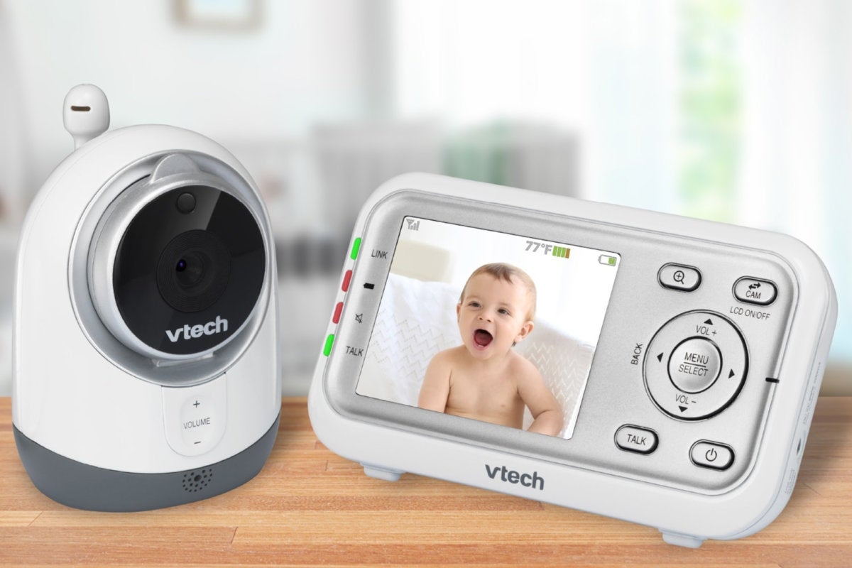 VTech VM3251 Expandable Digital Video Baby Monitor review ...