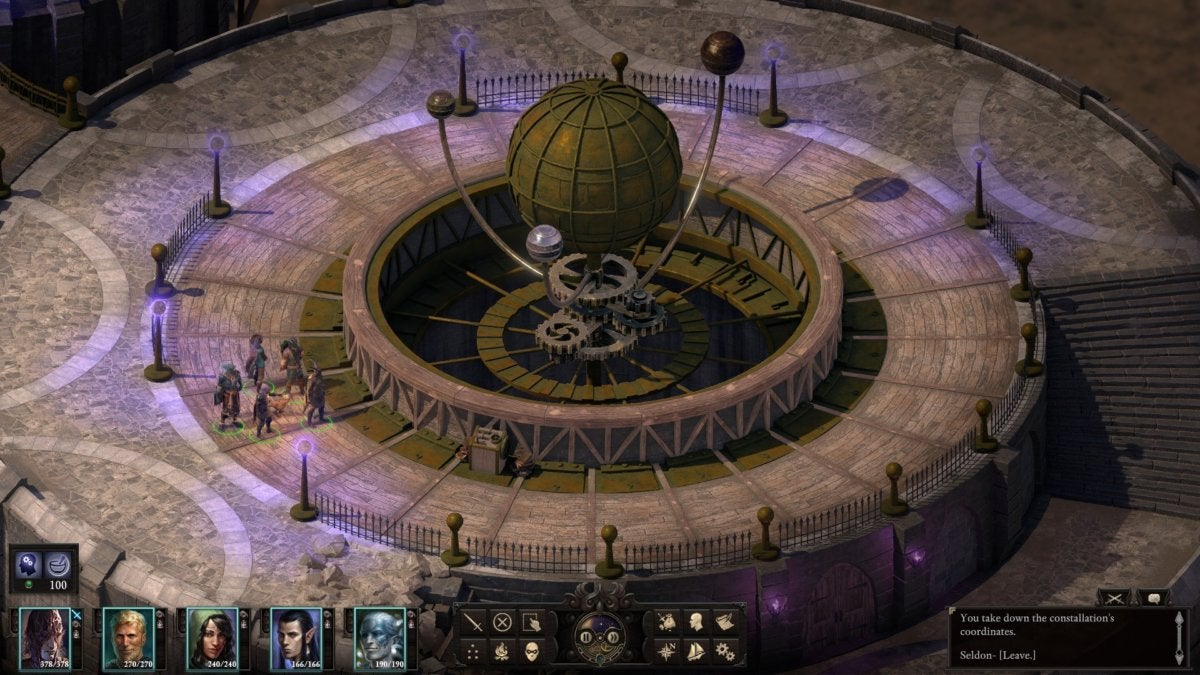 Pillars Of Eternity World Map Complete.Pillars Of Eternity Ii Deadfire Review A Strong Ship In Shallow