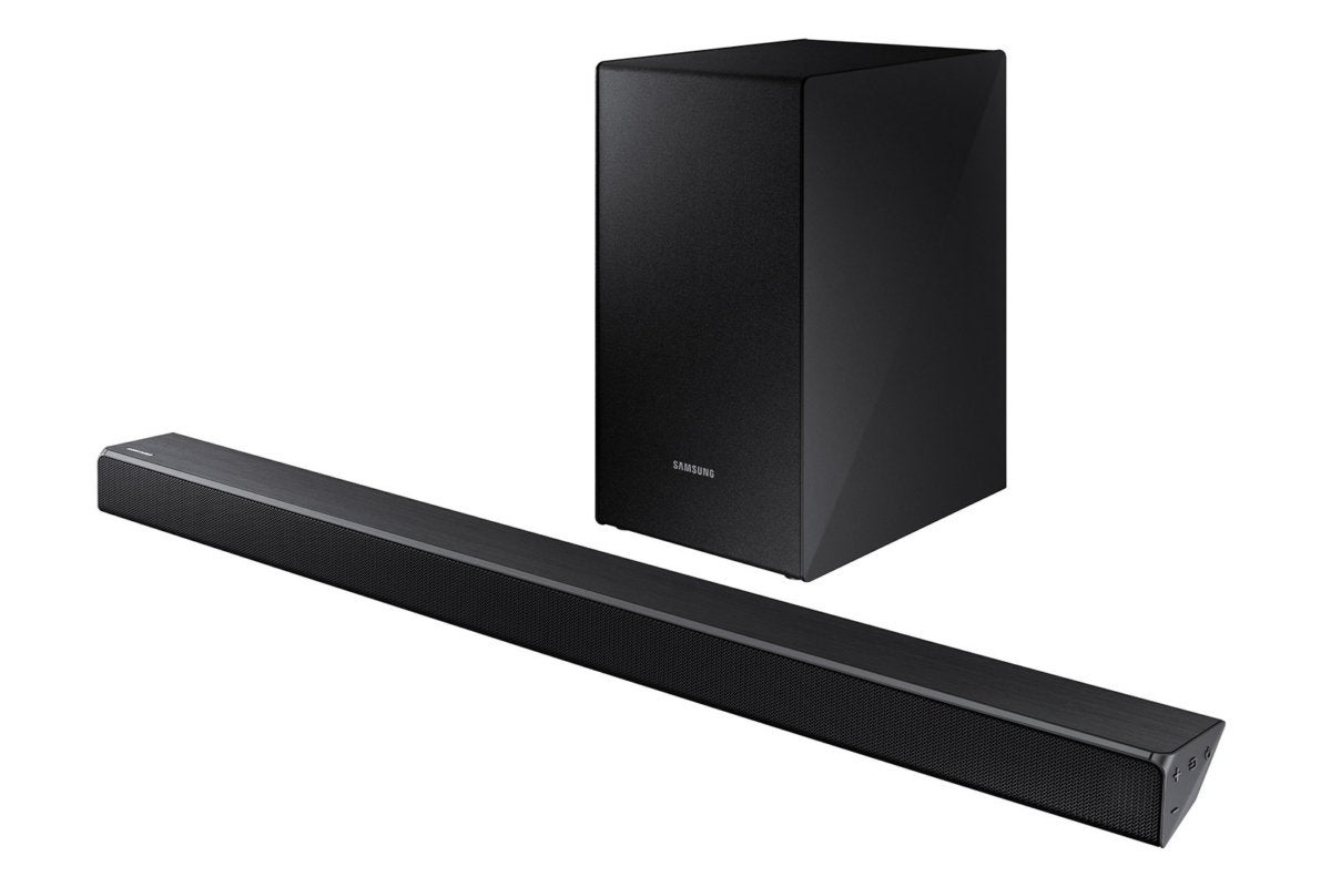 The Wireless Subwoofer Is A Rear Ported Design And Easy To Place In Samsung