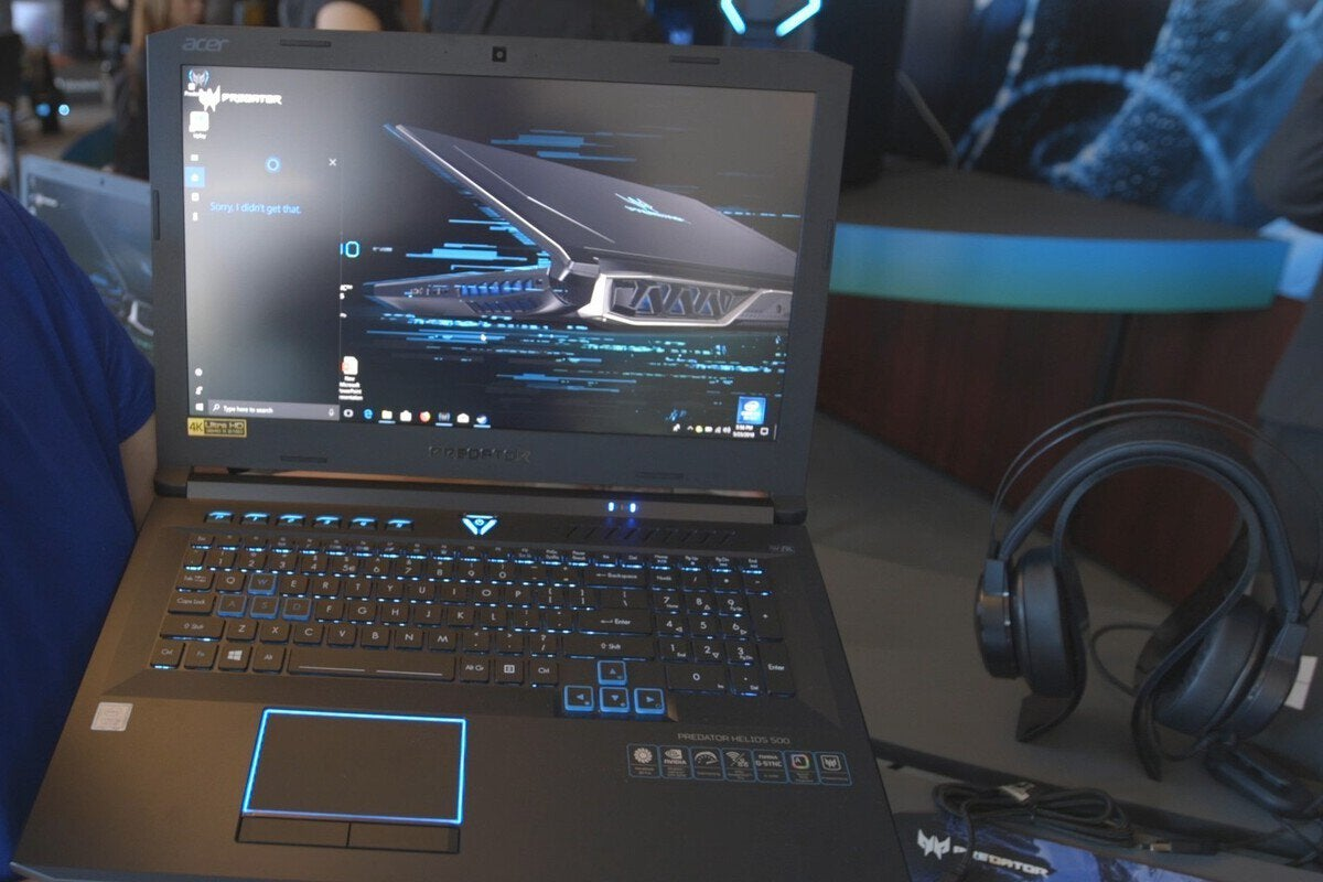 The Acer Predator Helios 500 is a gaming laptop that's
