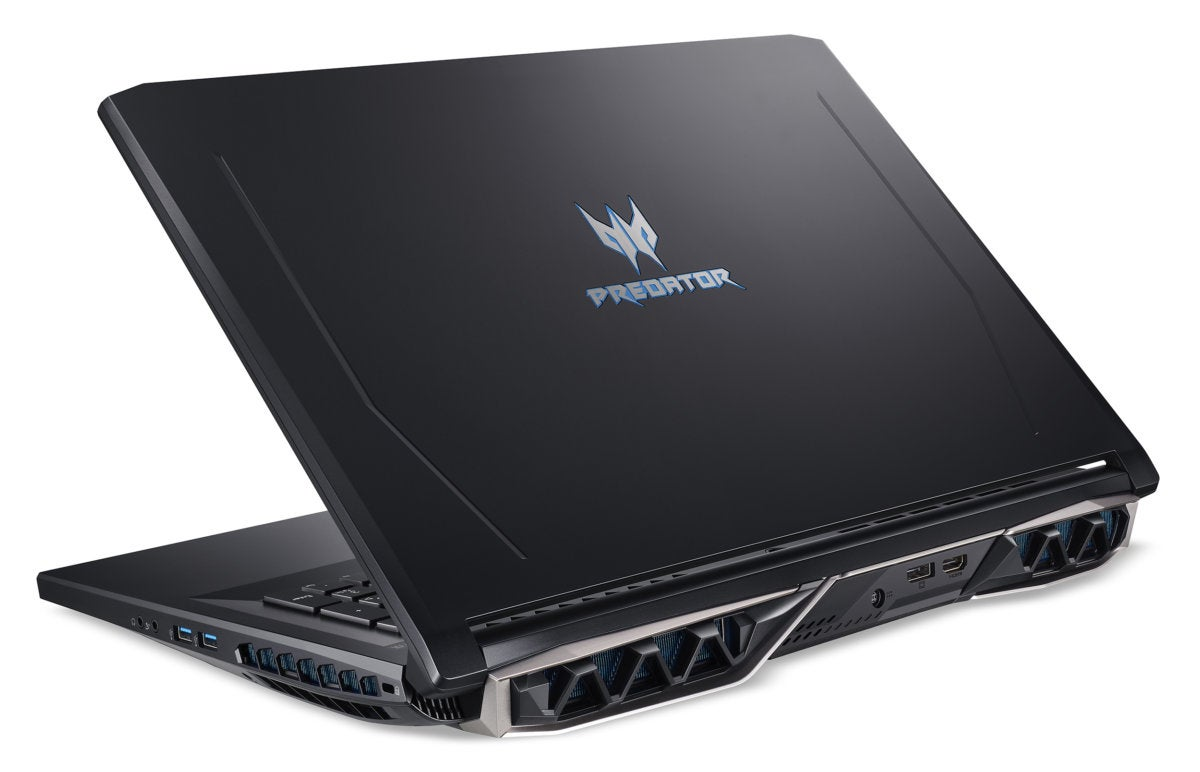 acer predator helios 500 rear view