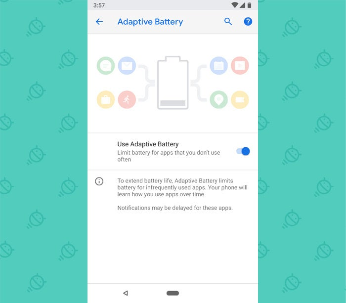 Android P Features: Adaptive Battery