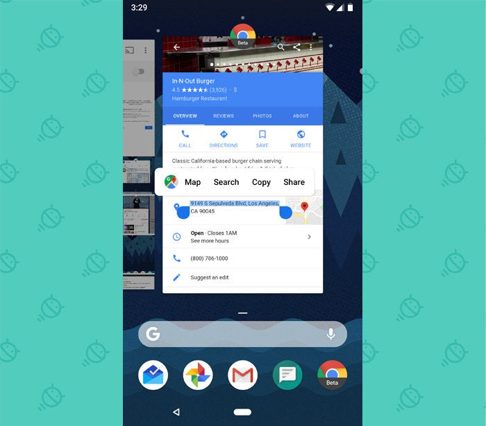 Android P Features: Overview Smart Text Select