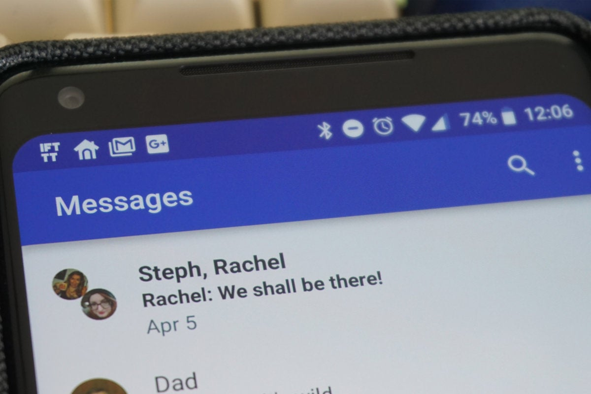 Google's RCS Chat for Android is the messaging service we