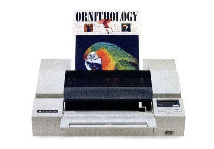 apple color printer