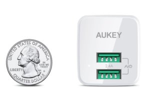 aukey wall charger