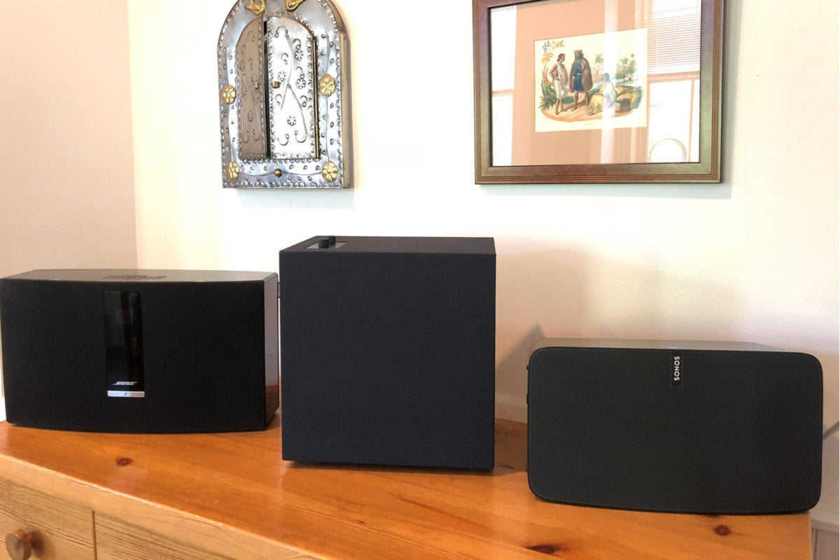 baggen with sonos and bose