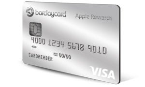barclays apple credit card
