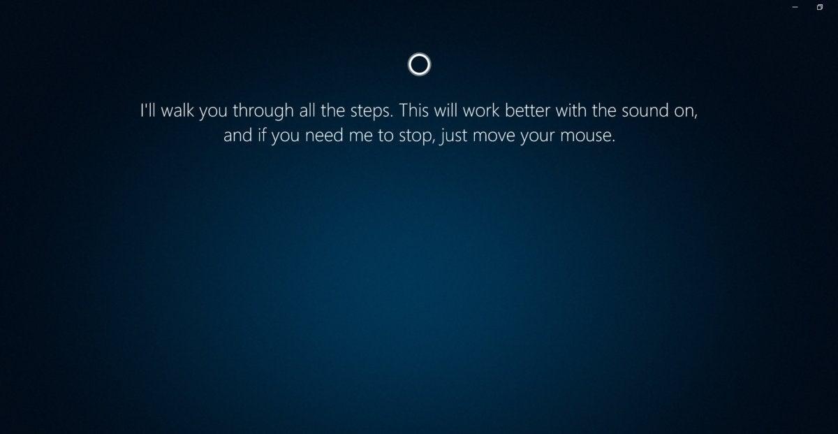 Microsoft Windows 10 Cortana show me 1