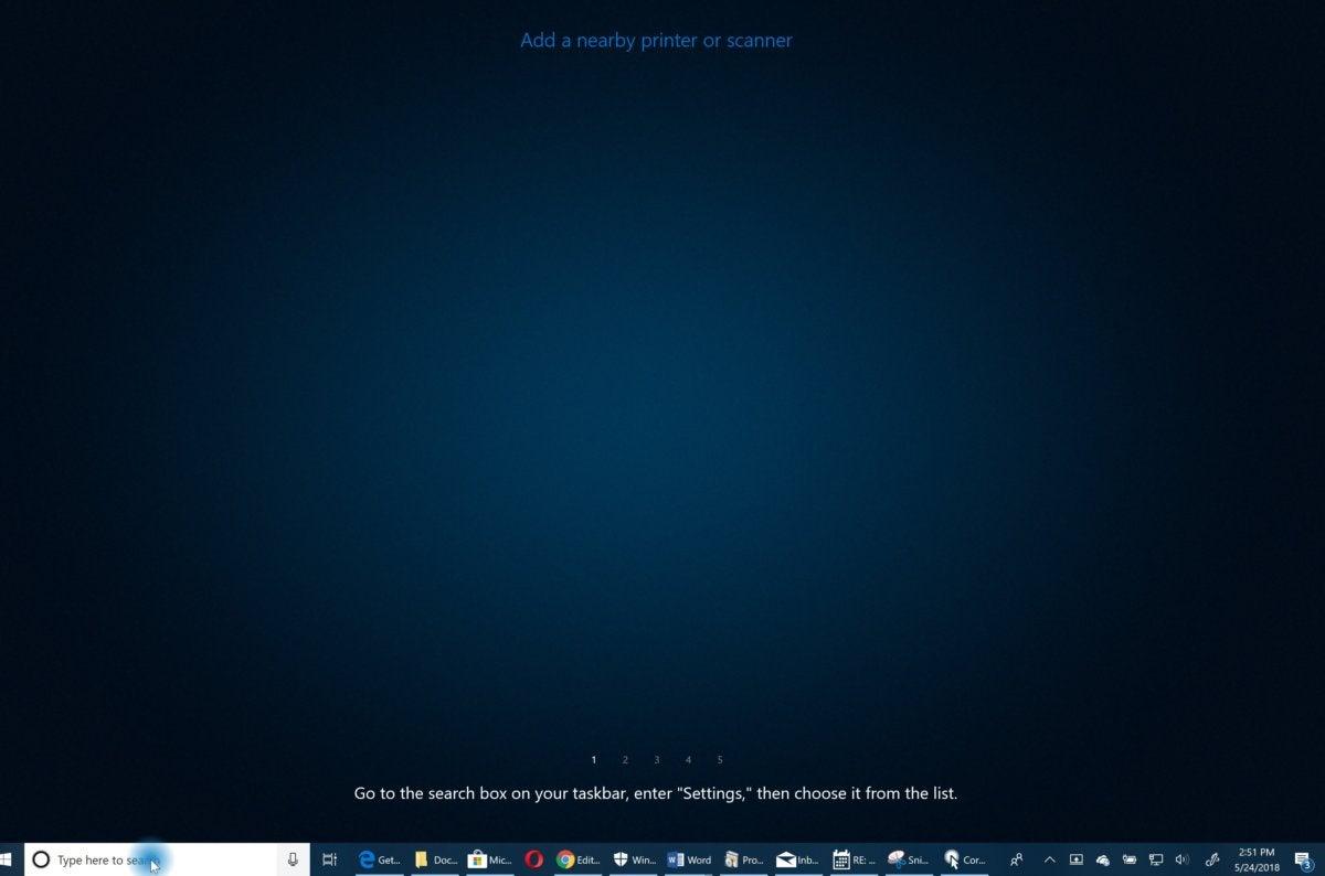 Microsoft Windows 10 cortana show me 2