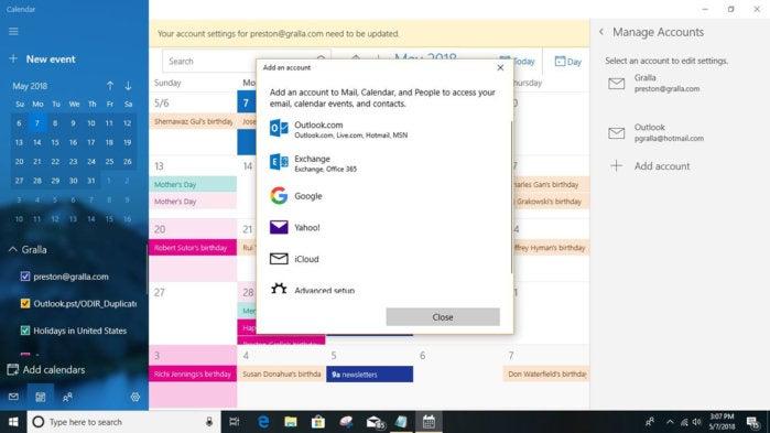 Cortana add calendar