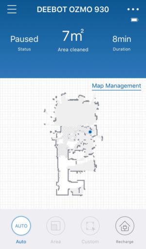 deebot map