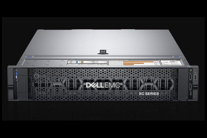 Dell EMC added two new hardware platforms to its XC family