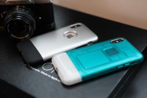 Spigen iPhone X C1 Classic One cases