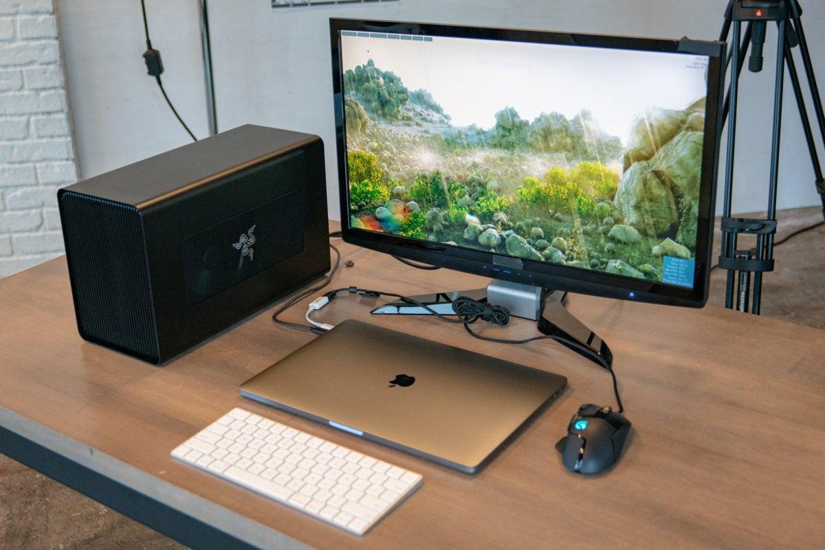 Razer Core X setup