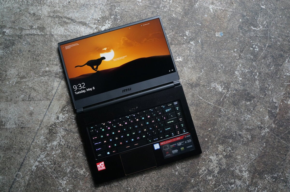MSI GS65 Stealth Thin 8RE review: Stylish enough for work and