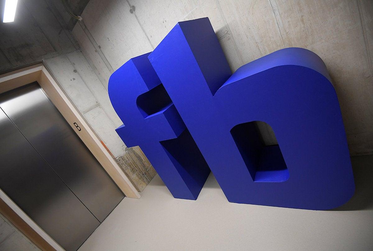 facebook hallway london headquarters reuters toby melville rtx3l5uy