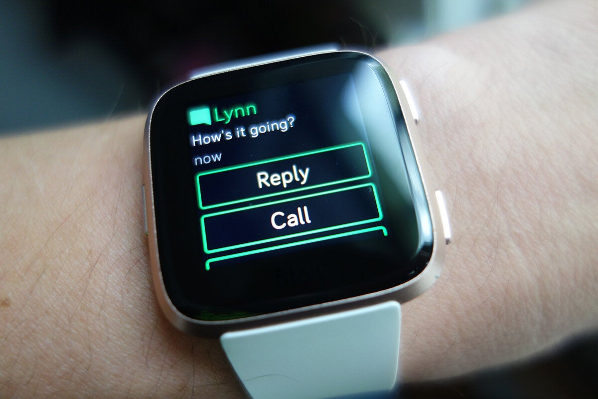 Android Quick Replies On Your Fitbit Ionic And Versa How