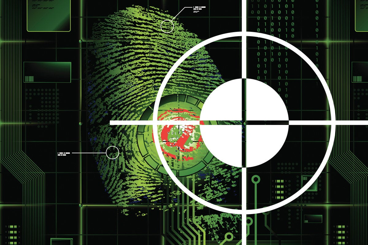 forensics threat hunter cyber security thumbprint