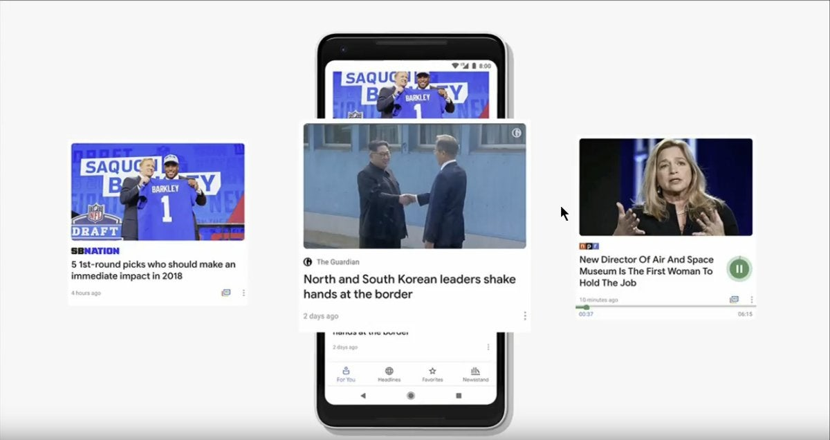 google news personalized