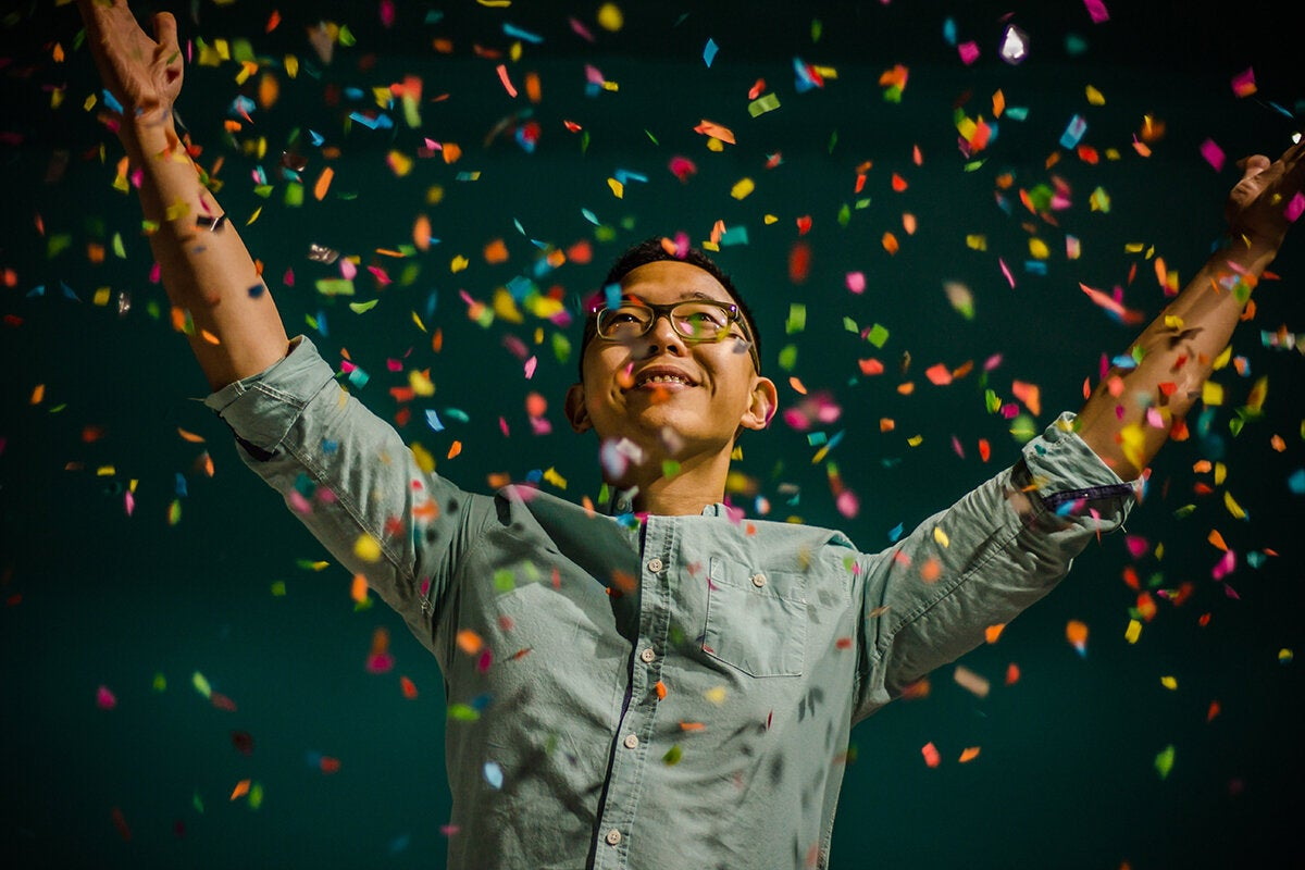 happy confetti celebrate victory proud winner ambreen hasan 346960 unsplash
