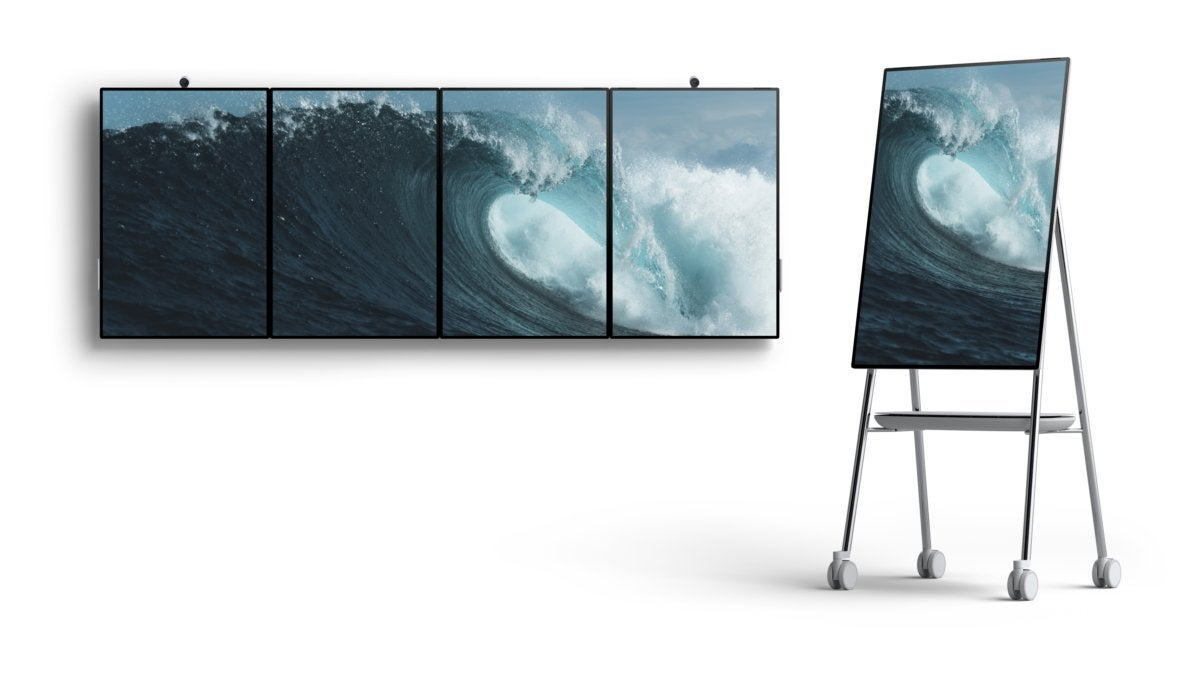 Microsoft Surface Hub 2 hero 001
