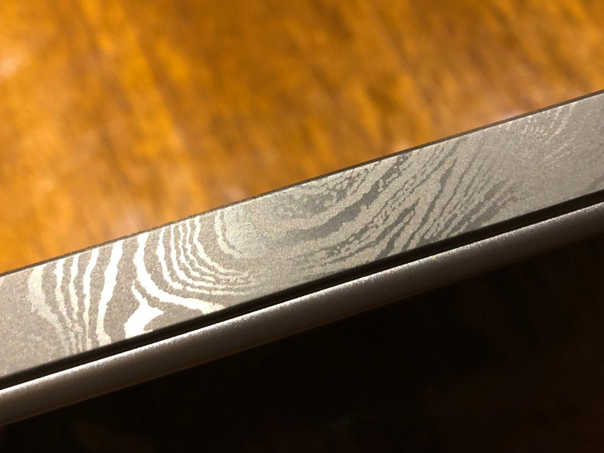 hp damascus etching