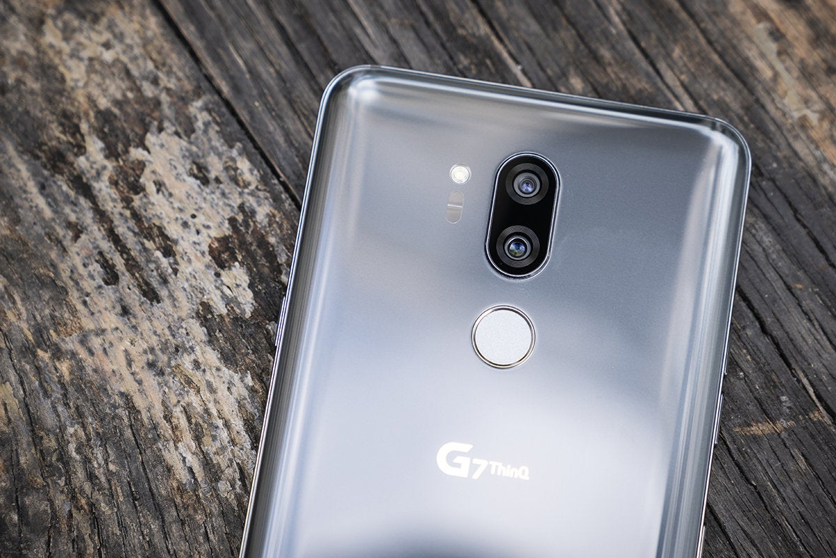 LG G7 ThinQ hands on: Camera smarts, killer sound, and some funky