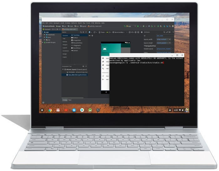 Linux Apps Chromebooks - Android Studio