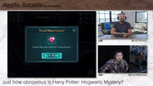 Apple Arcade Ep. 7: Harry Potter: Hogwarts Mystery