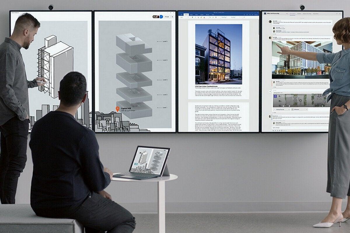 Microsoft's Surface Hub 2 puts Teams collaboration at its