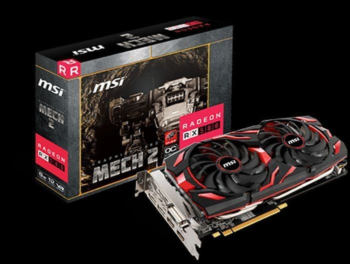 MSI's Mech 2 graphics cards give AMD another Radeon-exclusive brand